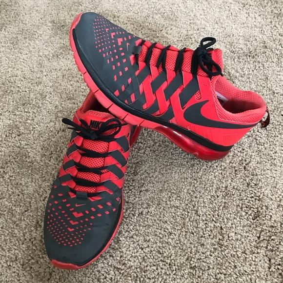 more photos 69b4f 13256 Nike Fingertrap Air Max Shoes -Red, Black   Gray. M 5b04898e36b9de7800c41260